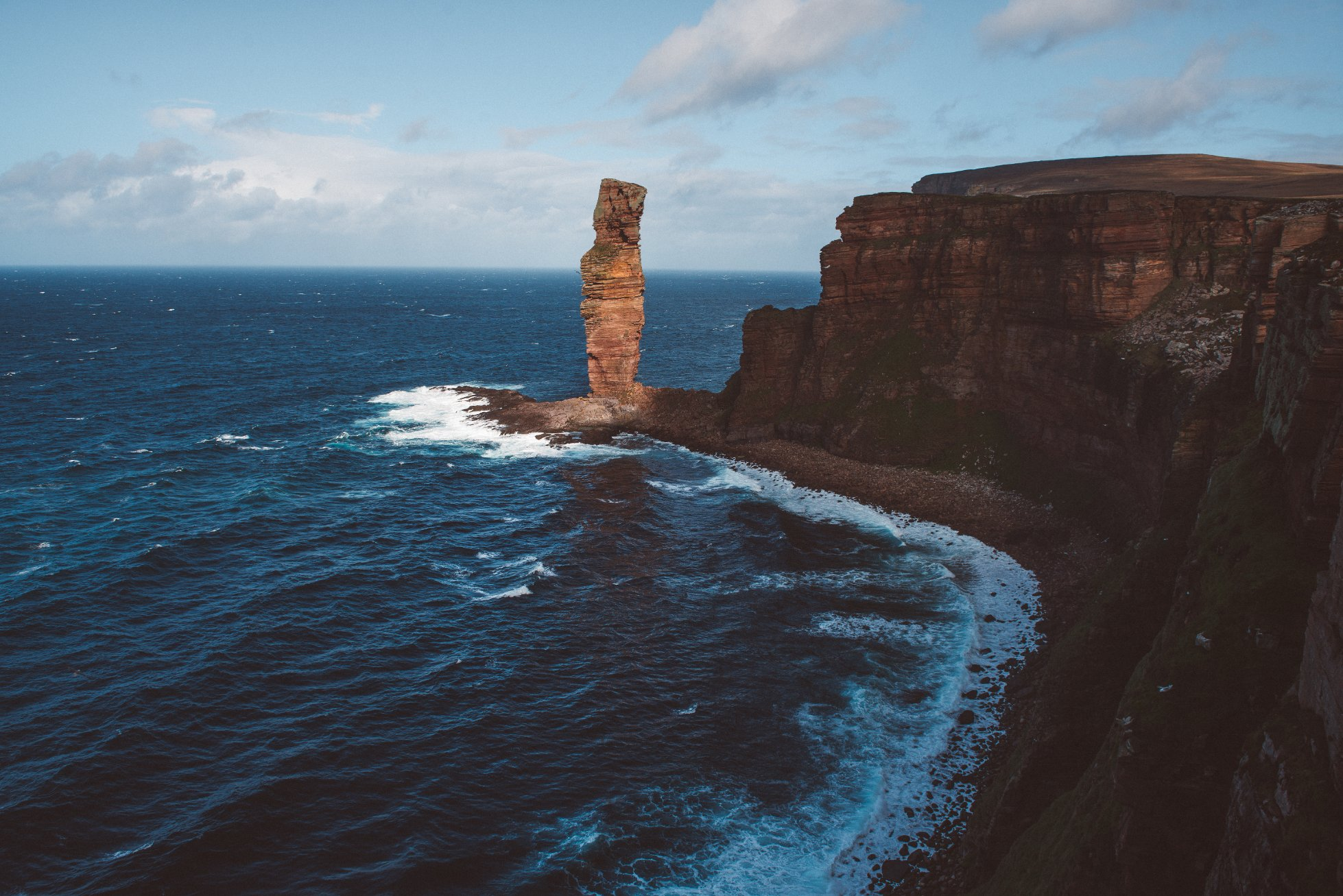 The Old Man of Hoy, Orkney - image by Alistair Horne