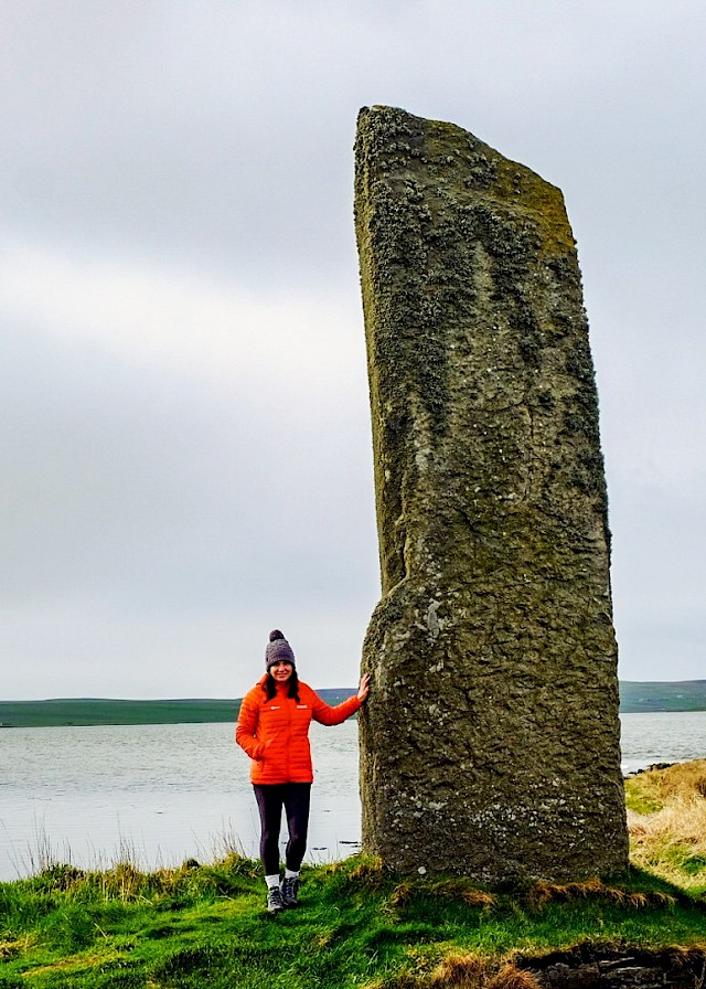 The Watchstone, Orkney - image by Kate Hopper