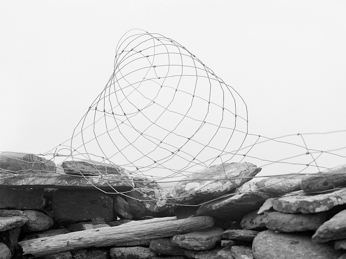 Wire on the shore in North Ronaldsay, Orkney - image by Frances Scott