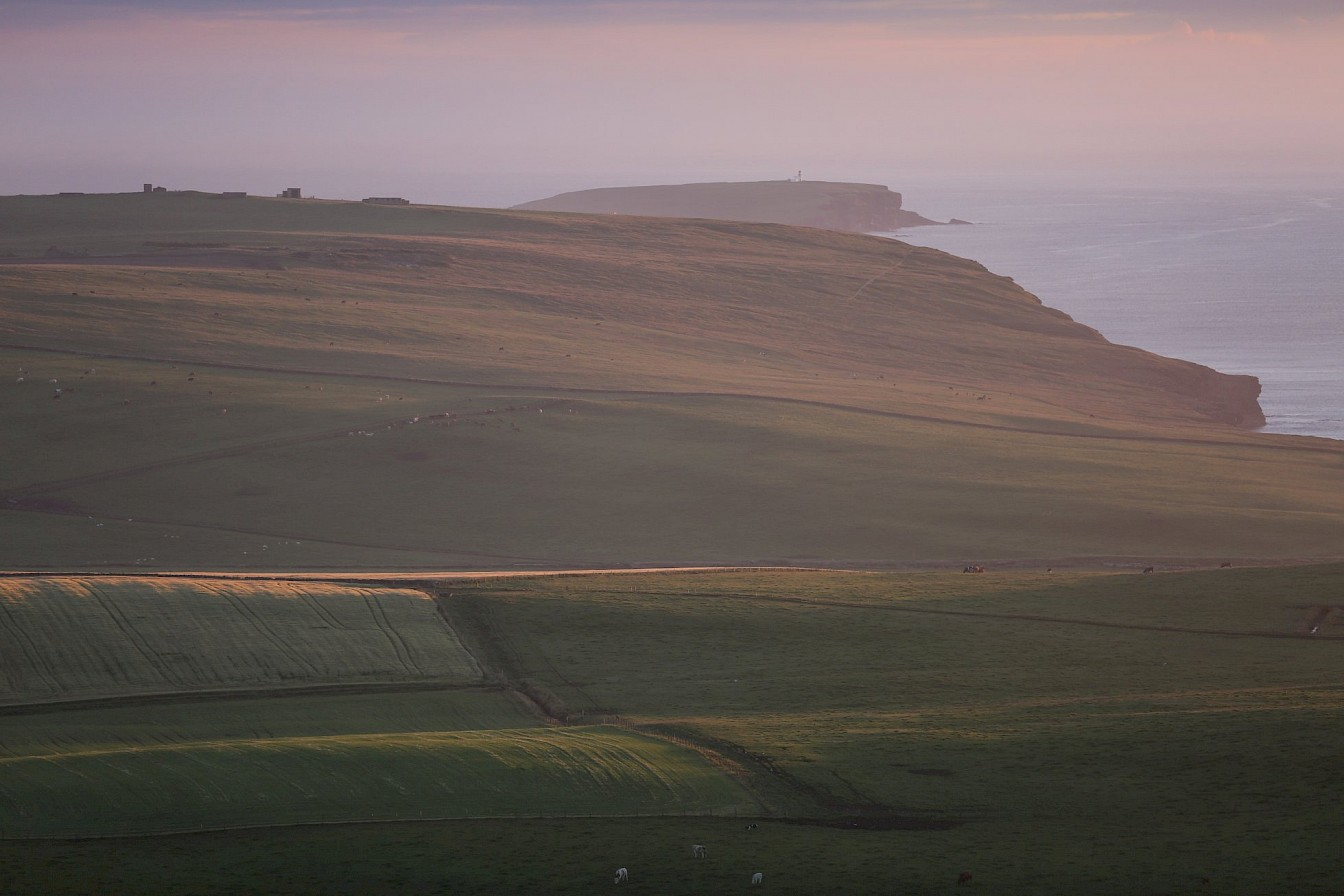 The view towards the Brough of Birsay from Costa
