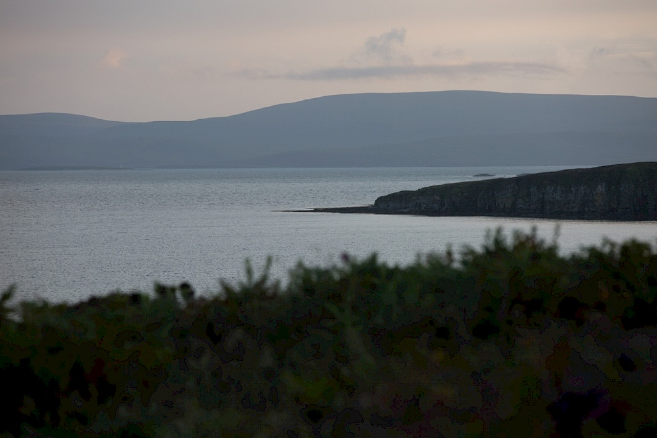 Scapa Flow from Hobbister, Orphir