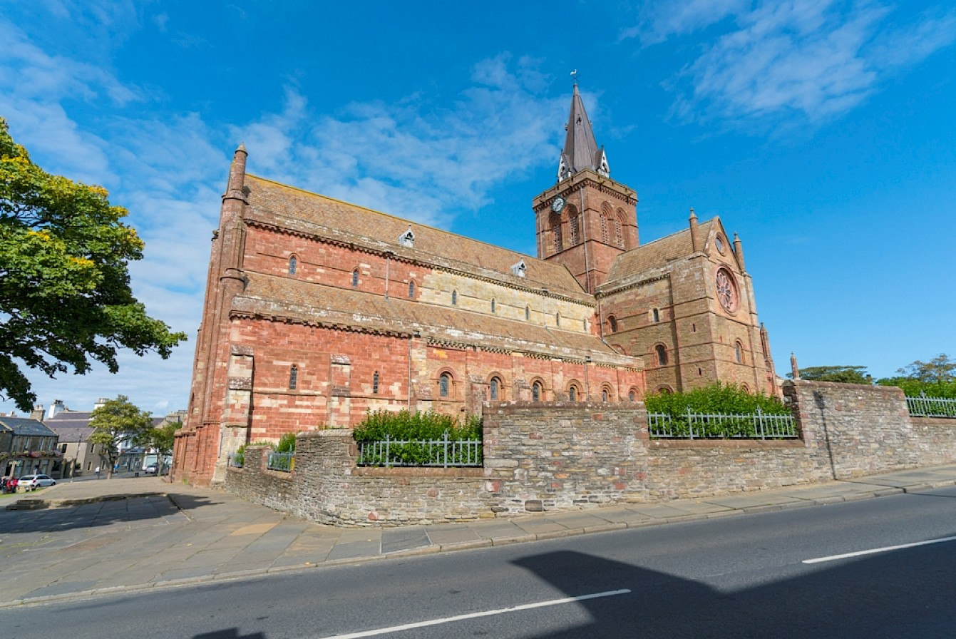 St Magnus Cathedral, Kirkwall - image by Visit Scotland/Kenny Lam