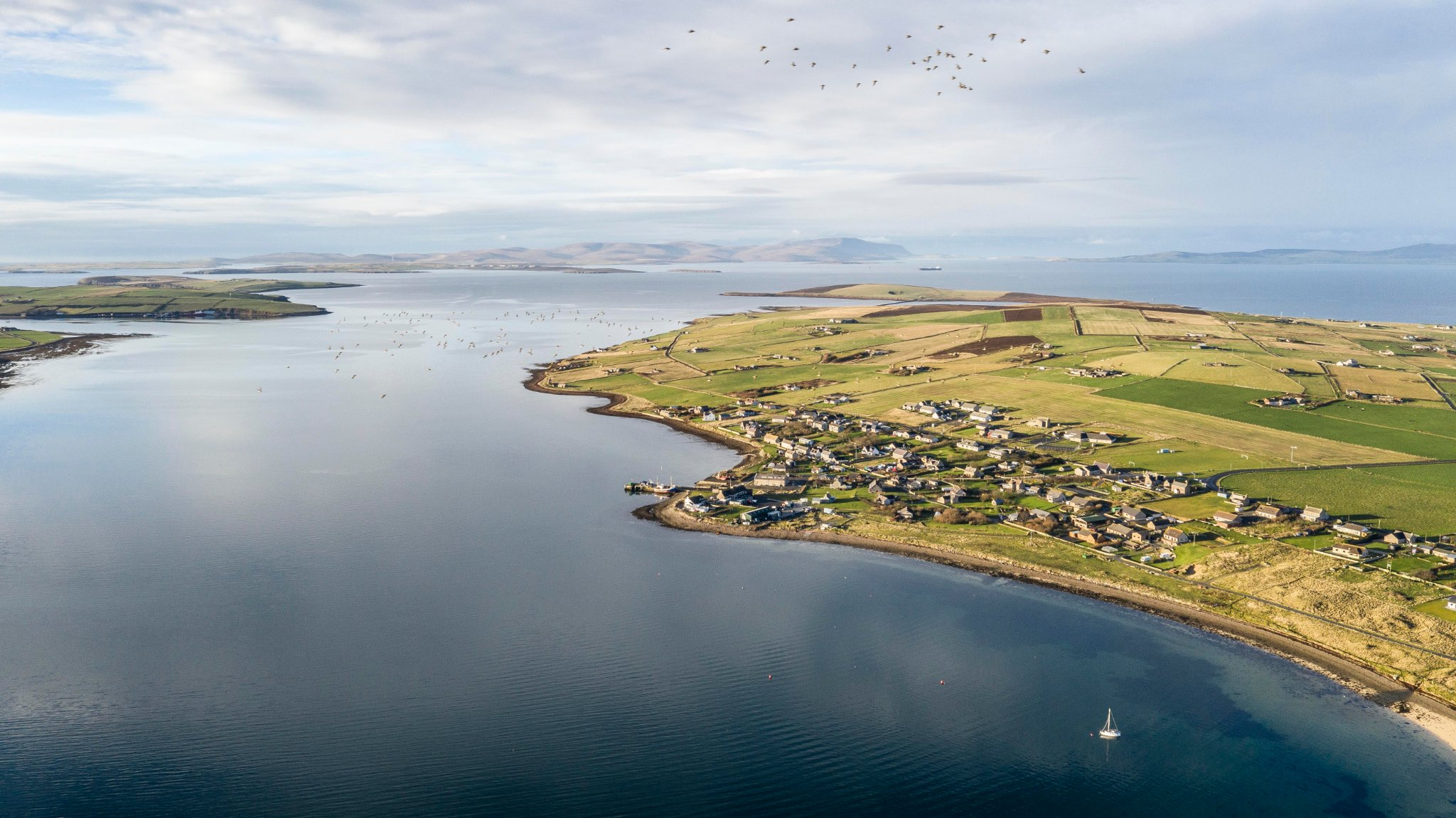 View over Burray and Scapa Flow - image by Andras Farkas