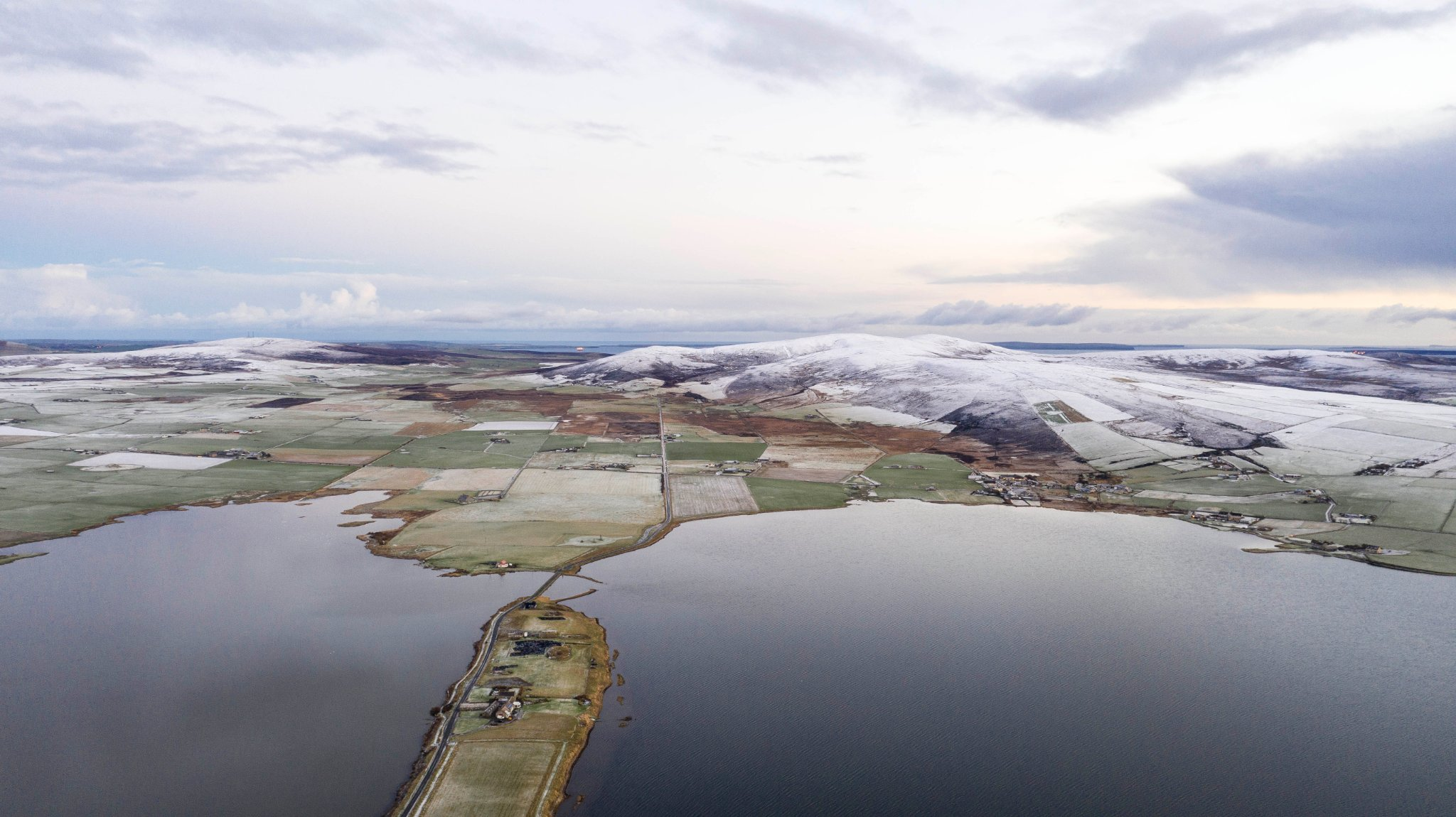 Overlooking Brodgar - image by Andras Farkas