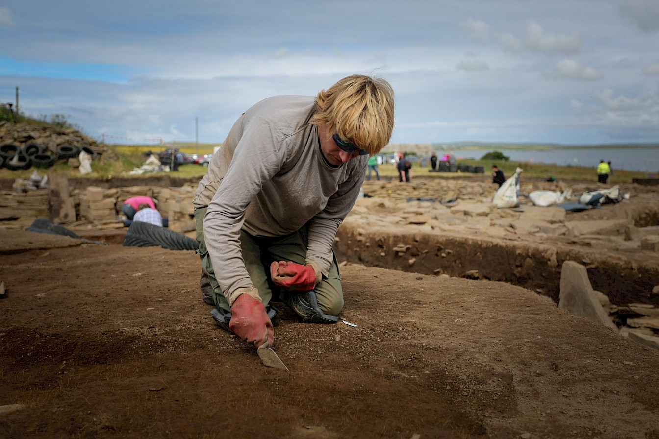 Excavations underway at the Ness