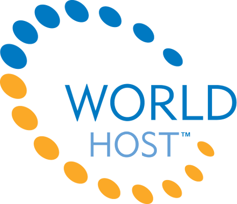 World Host Status Logo
