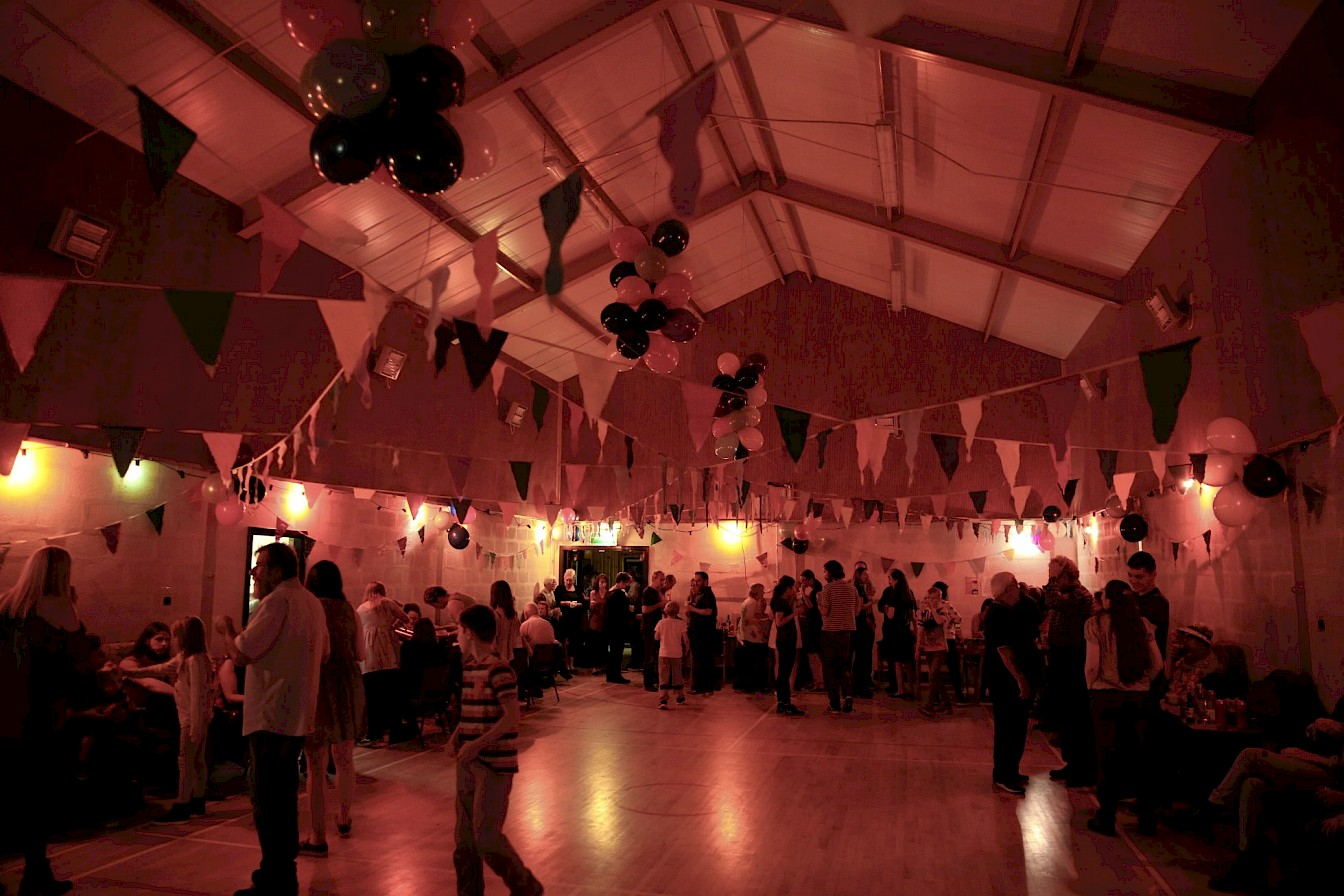 One of the famous North Ronaldsay ceilidhs