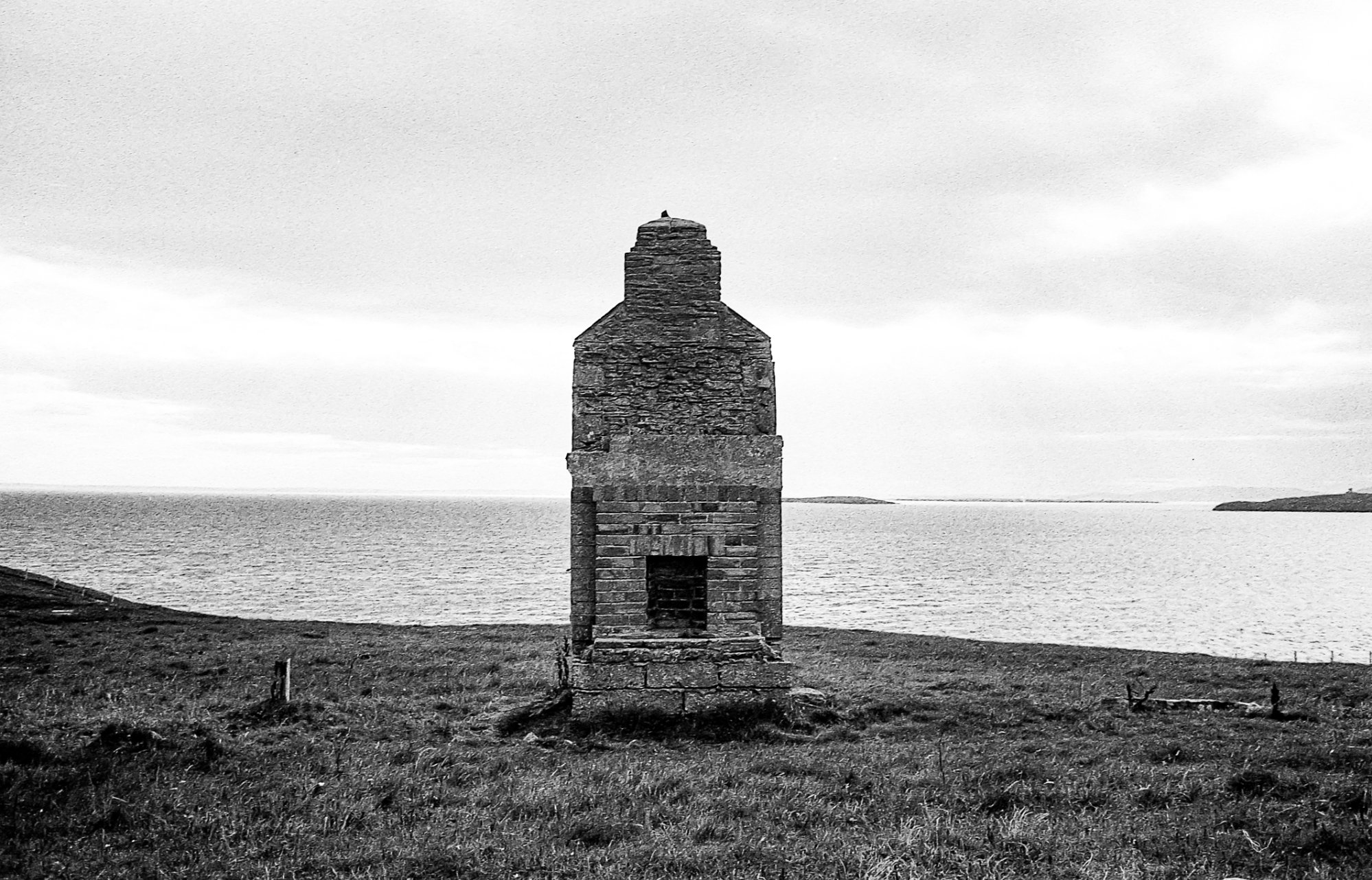 Wartime remains at Hoxa, South Ronaldsay - image by Sarah Wylie