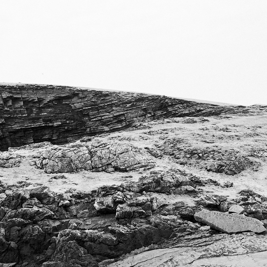 Rocky terrain, Yesnaby - image by Sarah Wylie