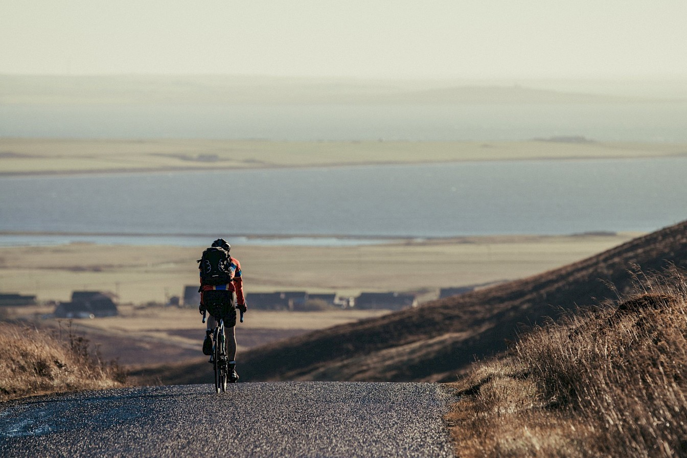 Tackling the hills of Orkney's west mainland