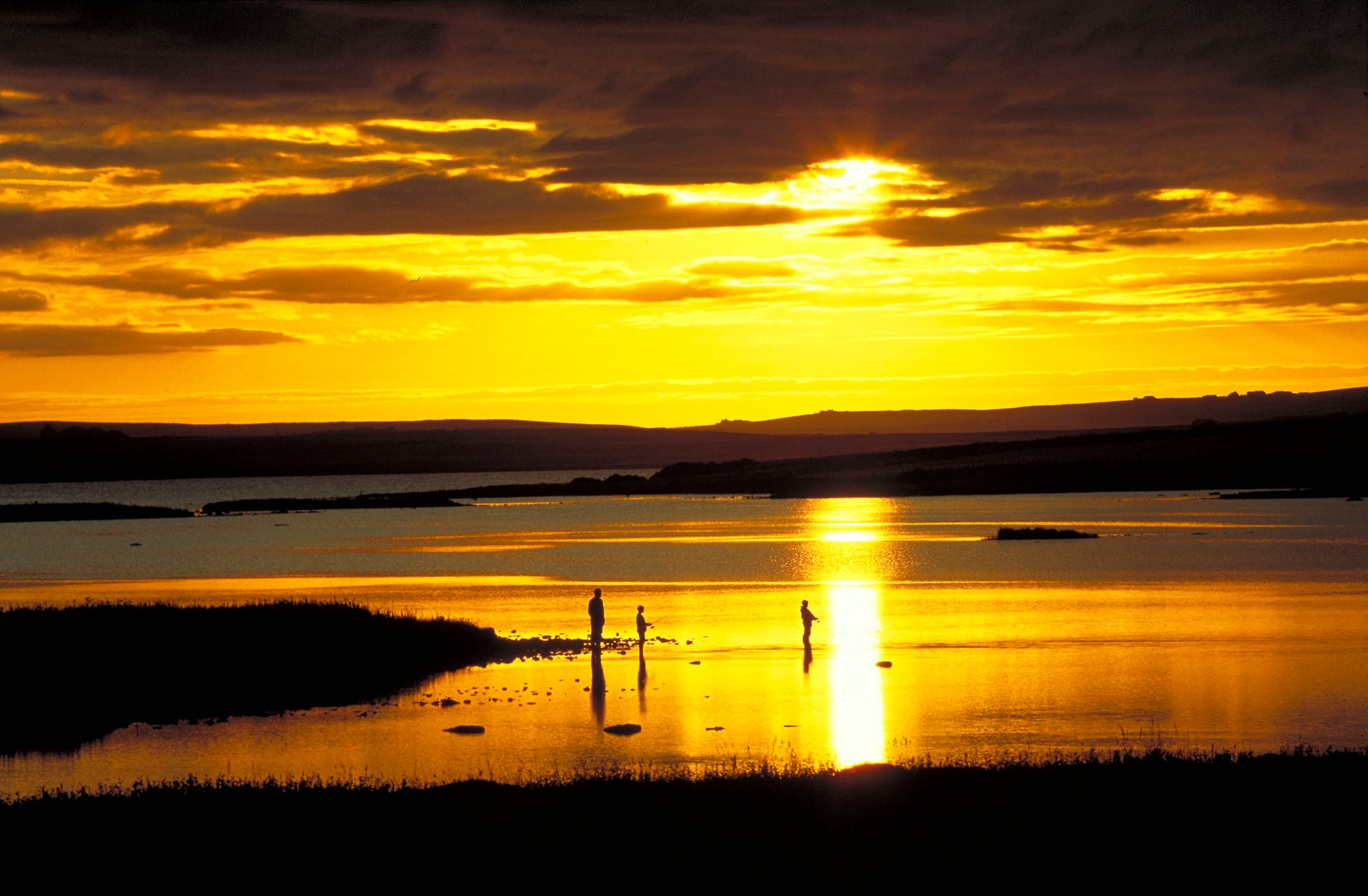 Fishing on the Harray Loch in Orkney - image by VisitScotland/Iain Sarjeant