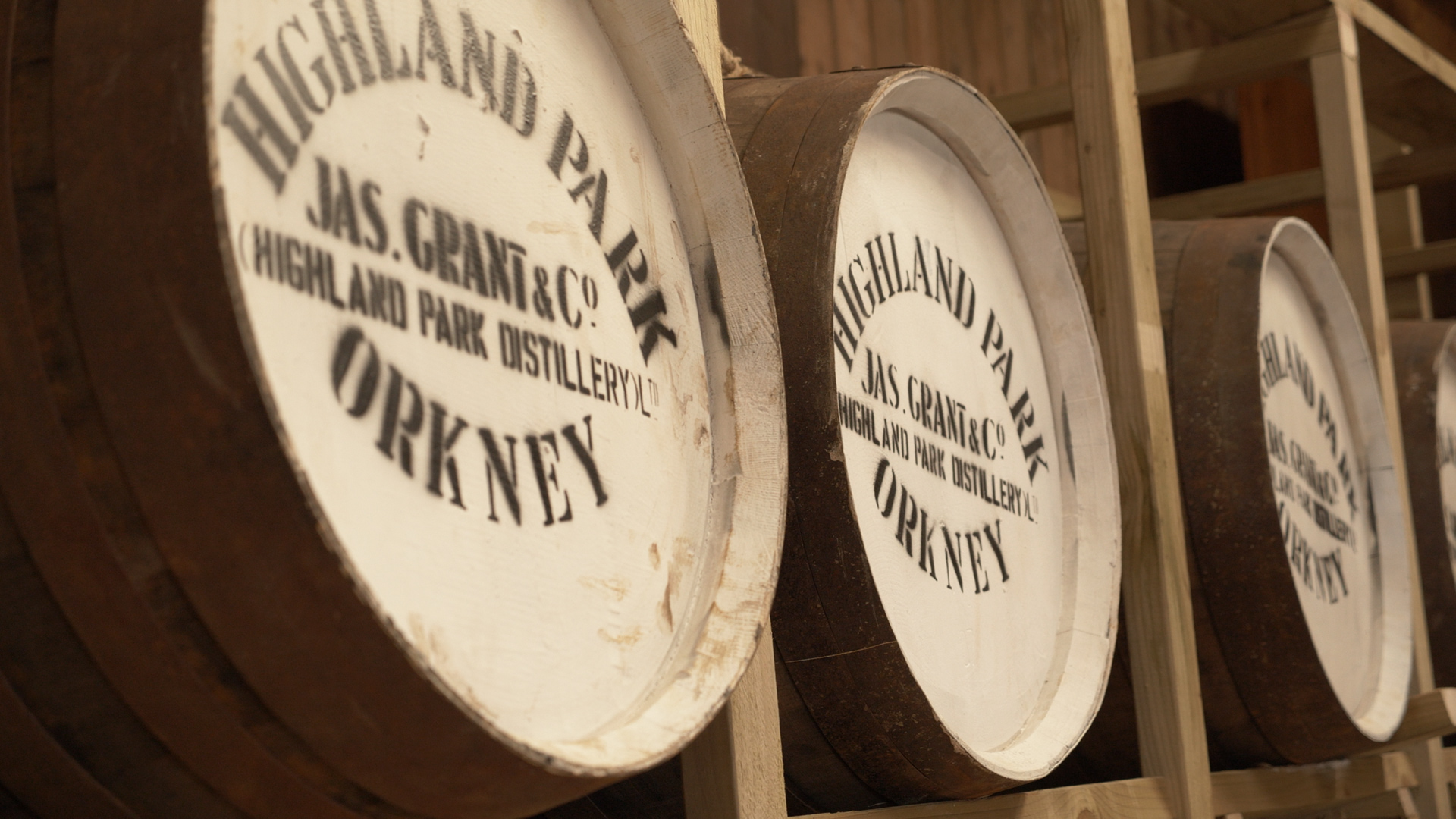 The Bere Malt vinegar is left to age in oak casks to help develop its flavour