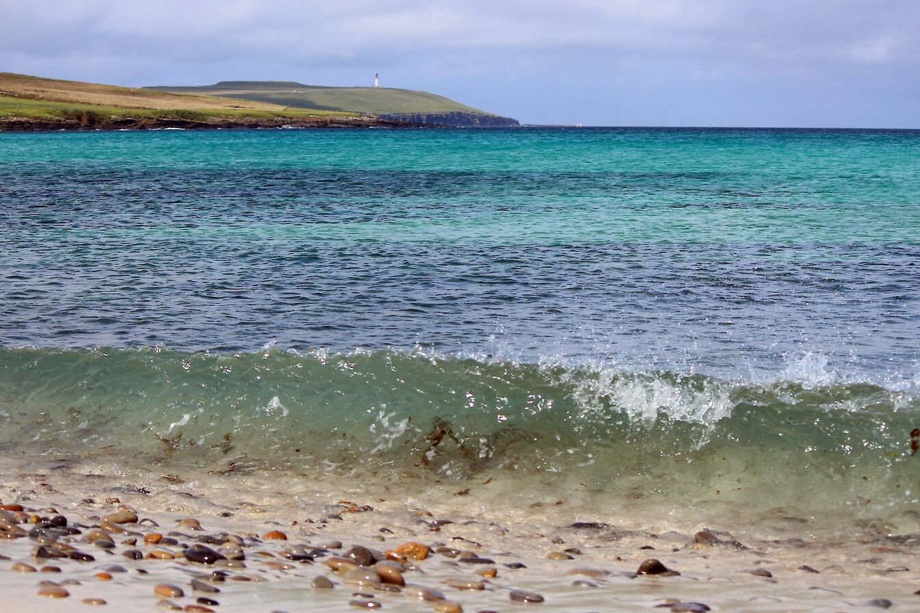 View towards Noup Head in Westray - image by Carol Leslie