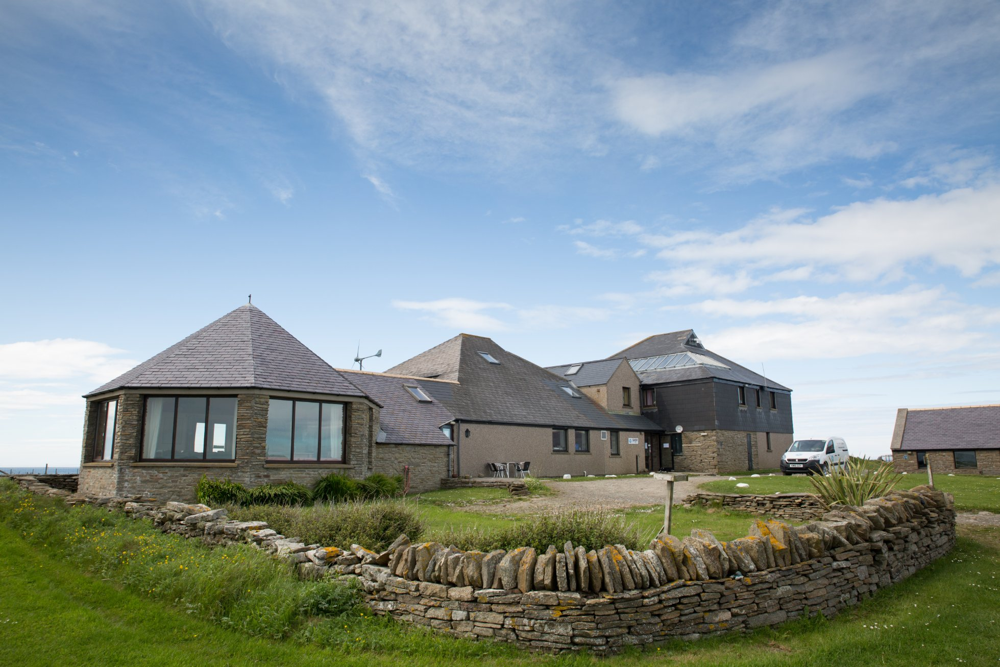 The North Ronaldsay Bird Observatory, a real island hub
