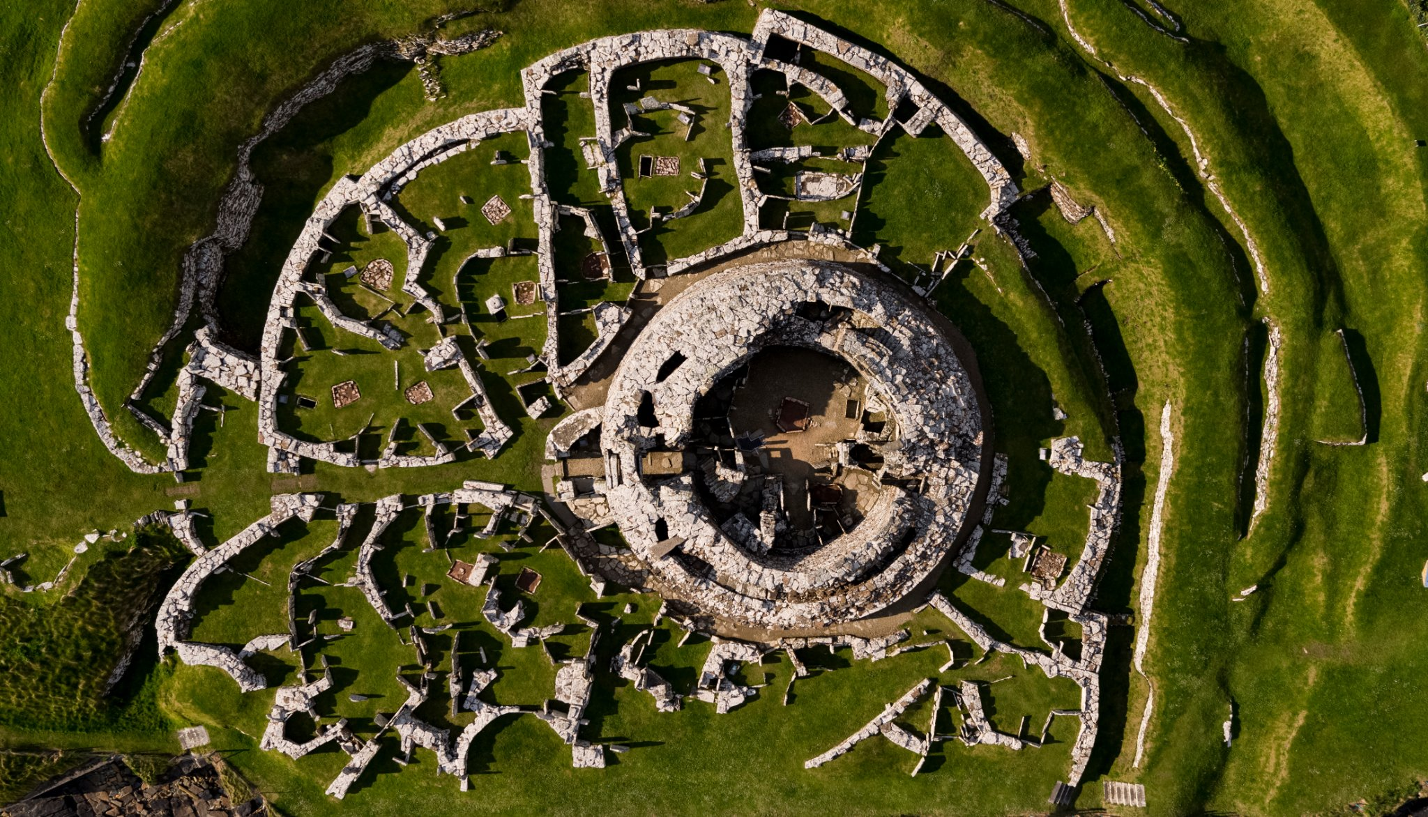 The Broch of Gurness, Orkney - image by Nick McCaffrey