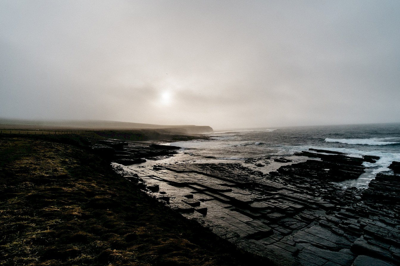 Shoreline at Marwick, Orkney - image by Tomas Hermoso