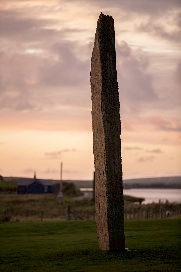 One of the Standing Stones of Stenness, Orkney