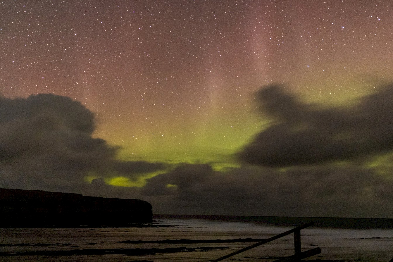 Northern lights, Orkney - image by Akmal Hakim