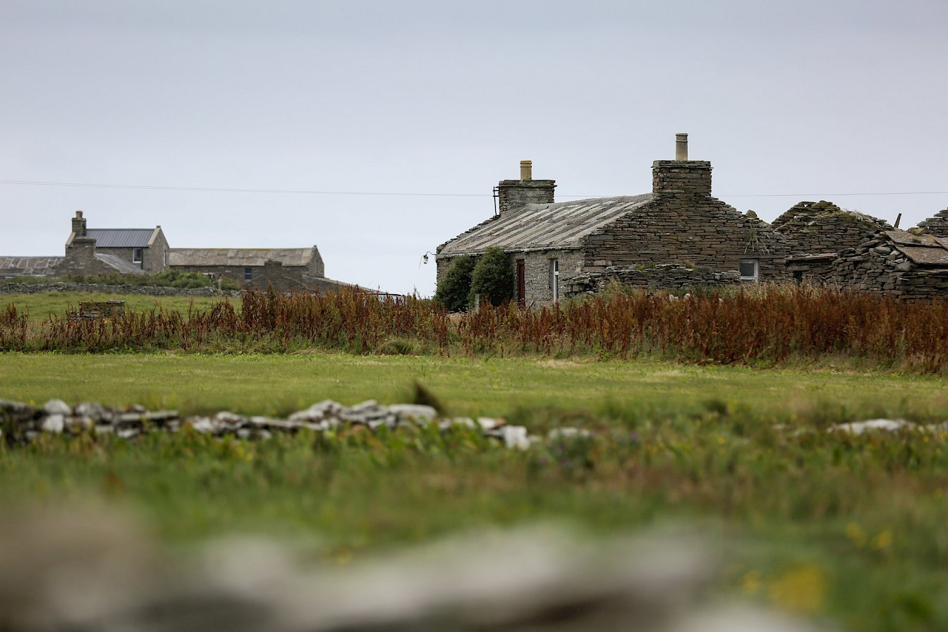 North Ronaldsay croft house