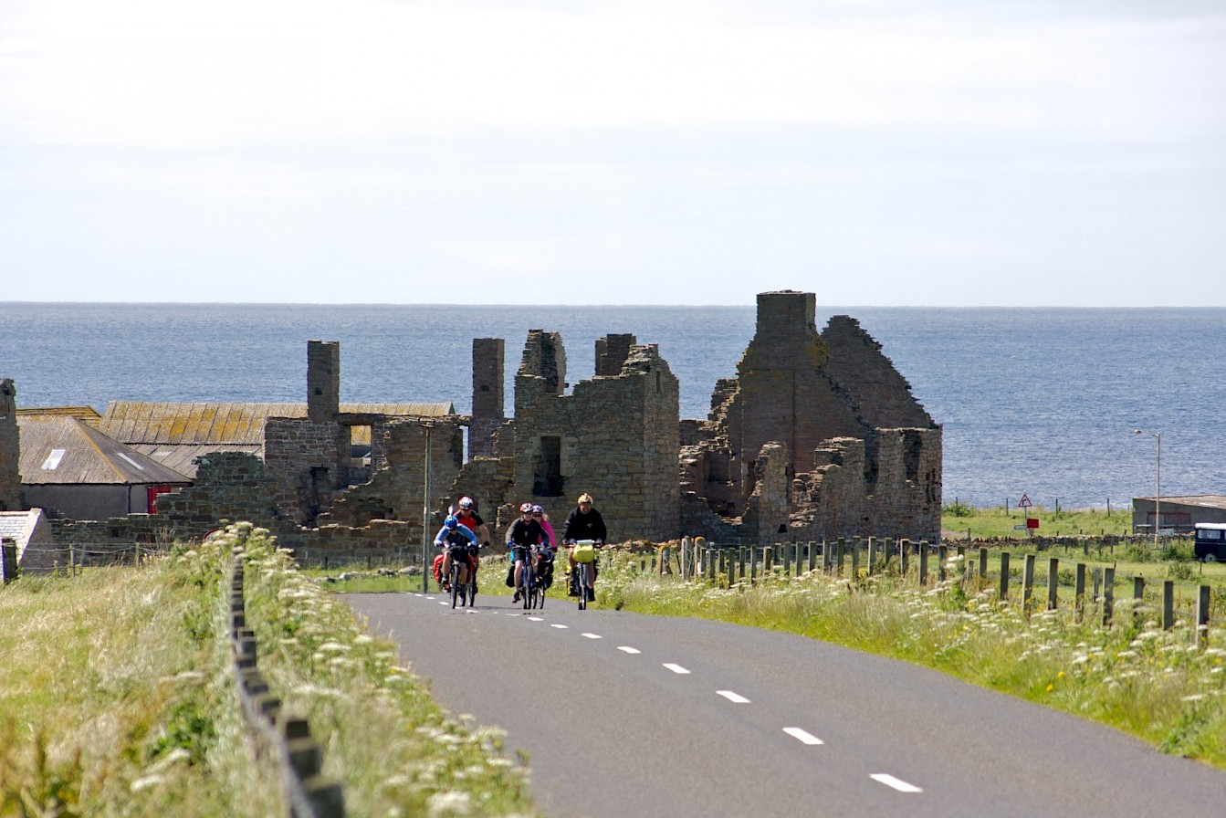 Road towards the Earl's Palace, Orkney - image by Colin Keldie