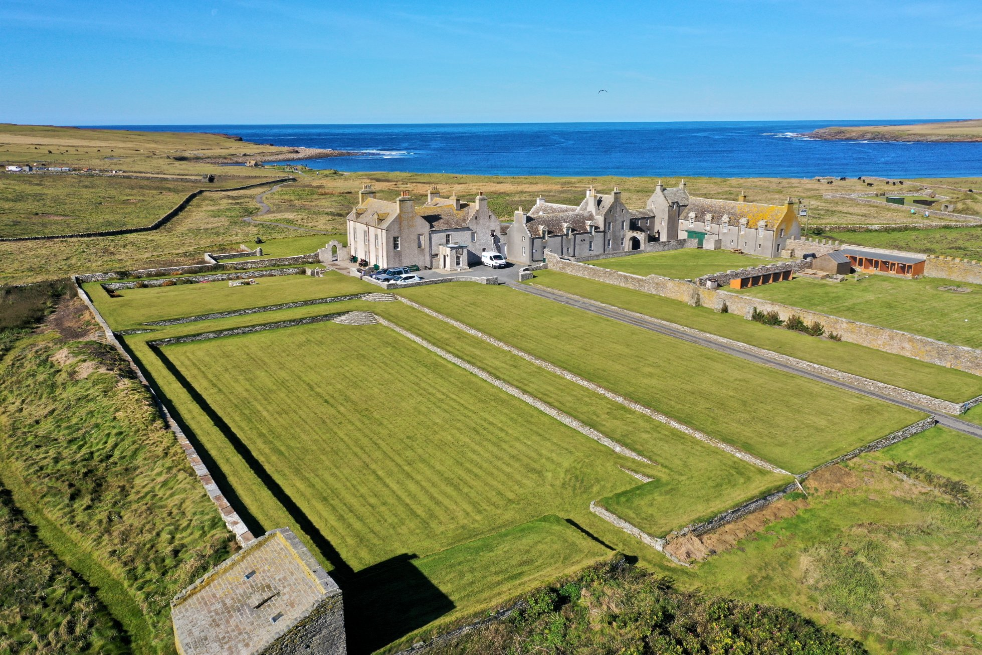 Skaill House sits close to the Bay of Skaill on Orkney's west coast - image by Colin Keldie