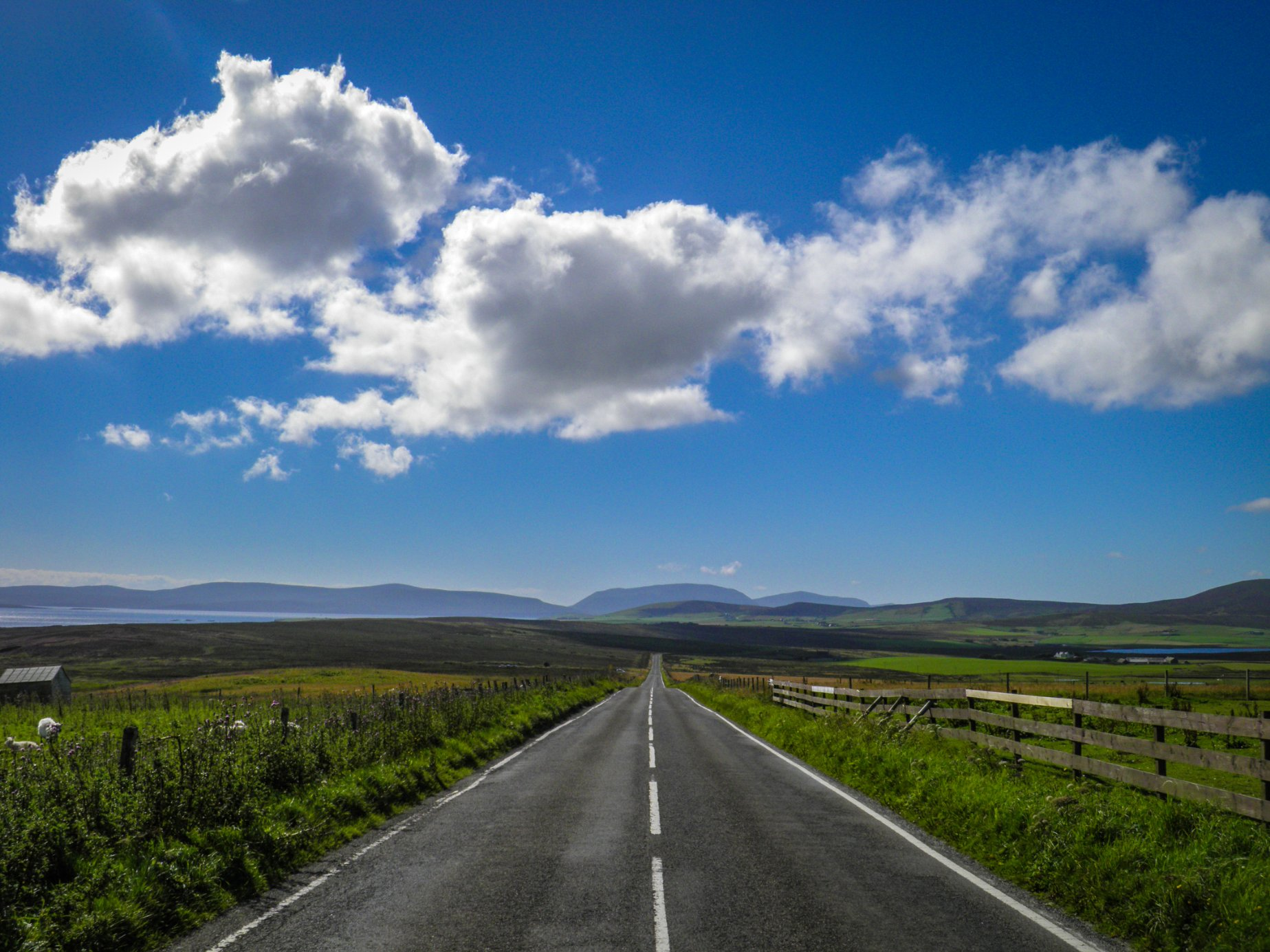 The view towards Hoy - image by Robert Towns