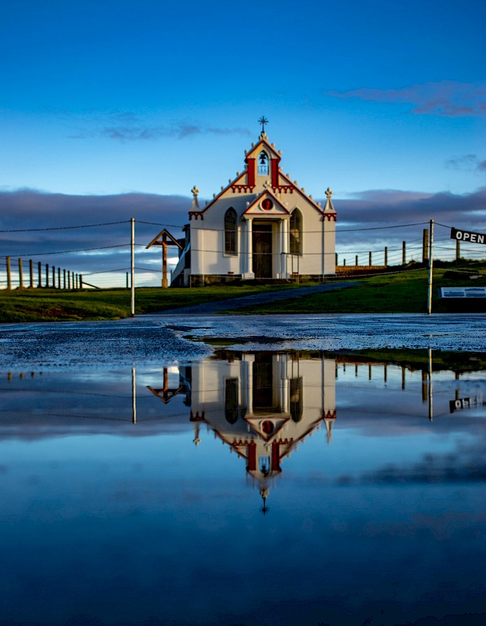 The Italian Chapel, Orkney - image by Robert Towns