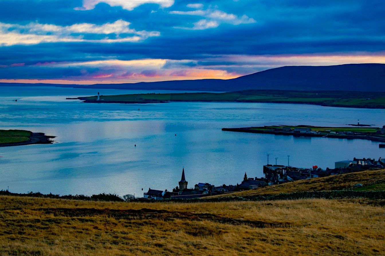 View over Stromness from Brinkie's Brae - image by Robert Towns