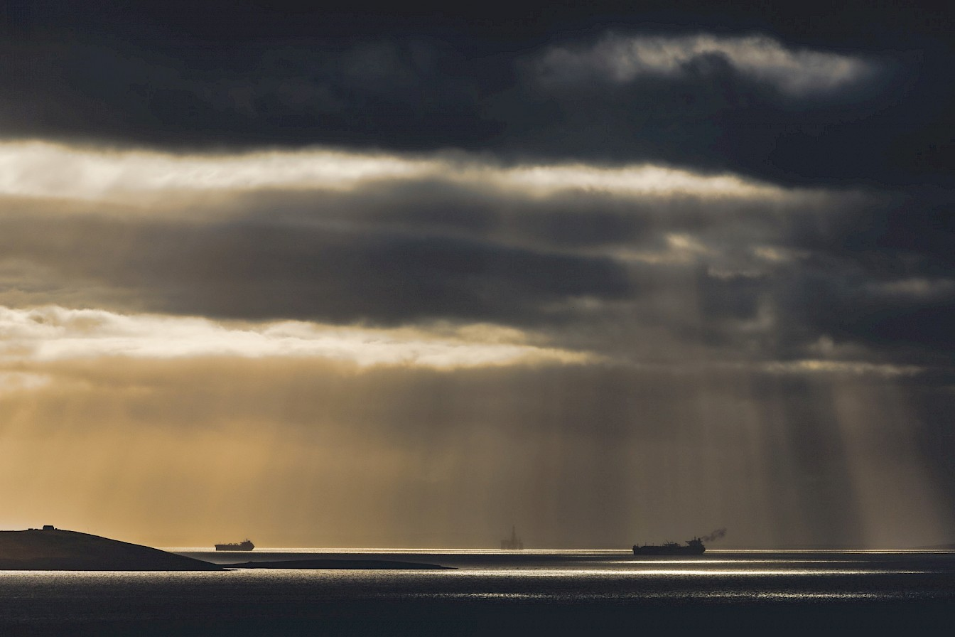 Scapa Flow, Orkney - image by Ally Velzian