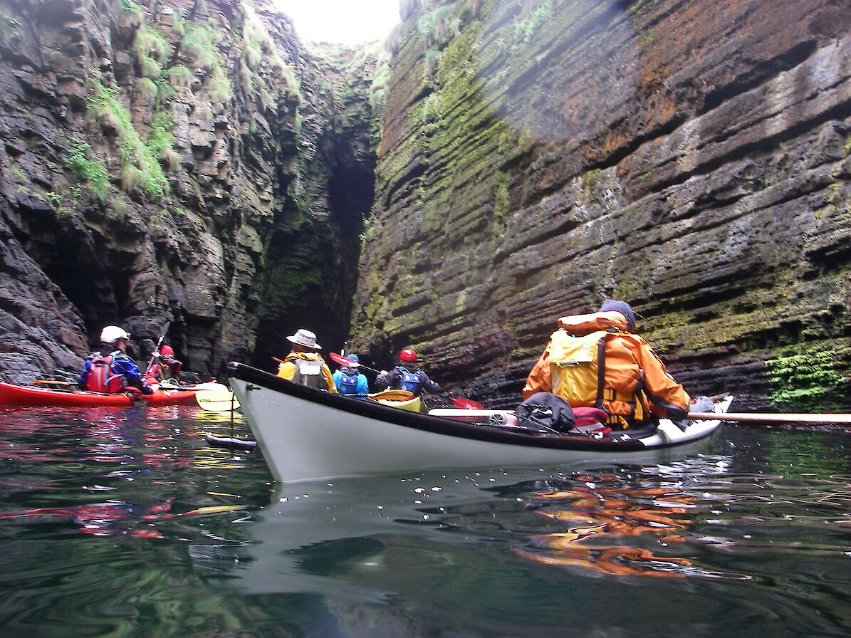 Sea kayaking in Orkney