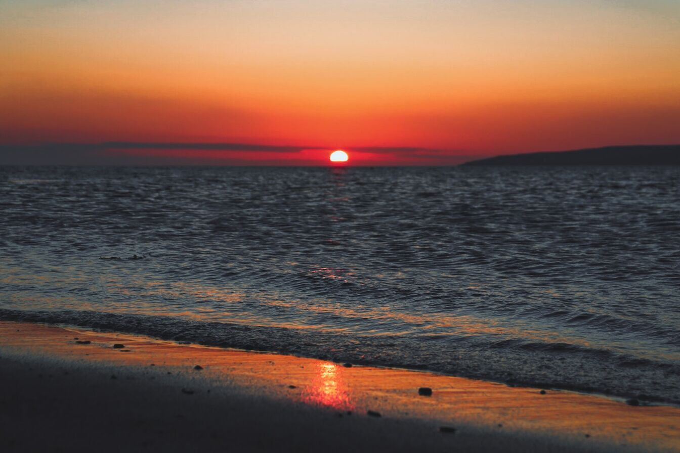 Sunset in Orkney - image by Jenna Harper
