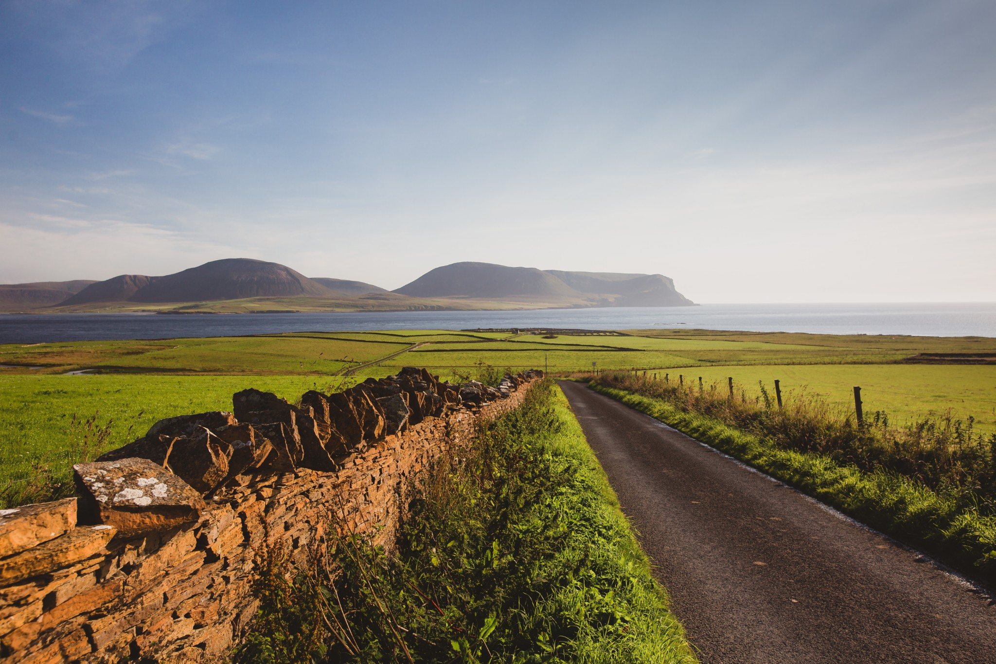 View towards Hoy, Orkney