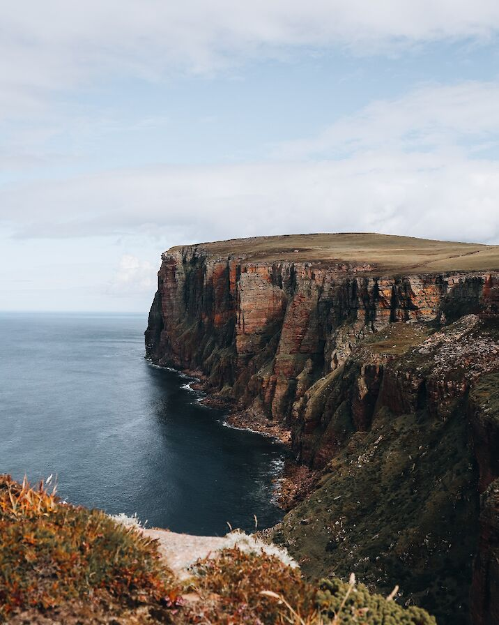 The cliffs of Hoy, Orkney - image by Rachel Eunson