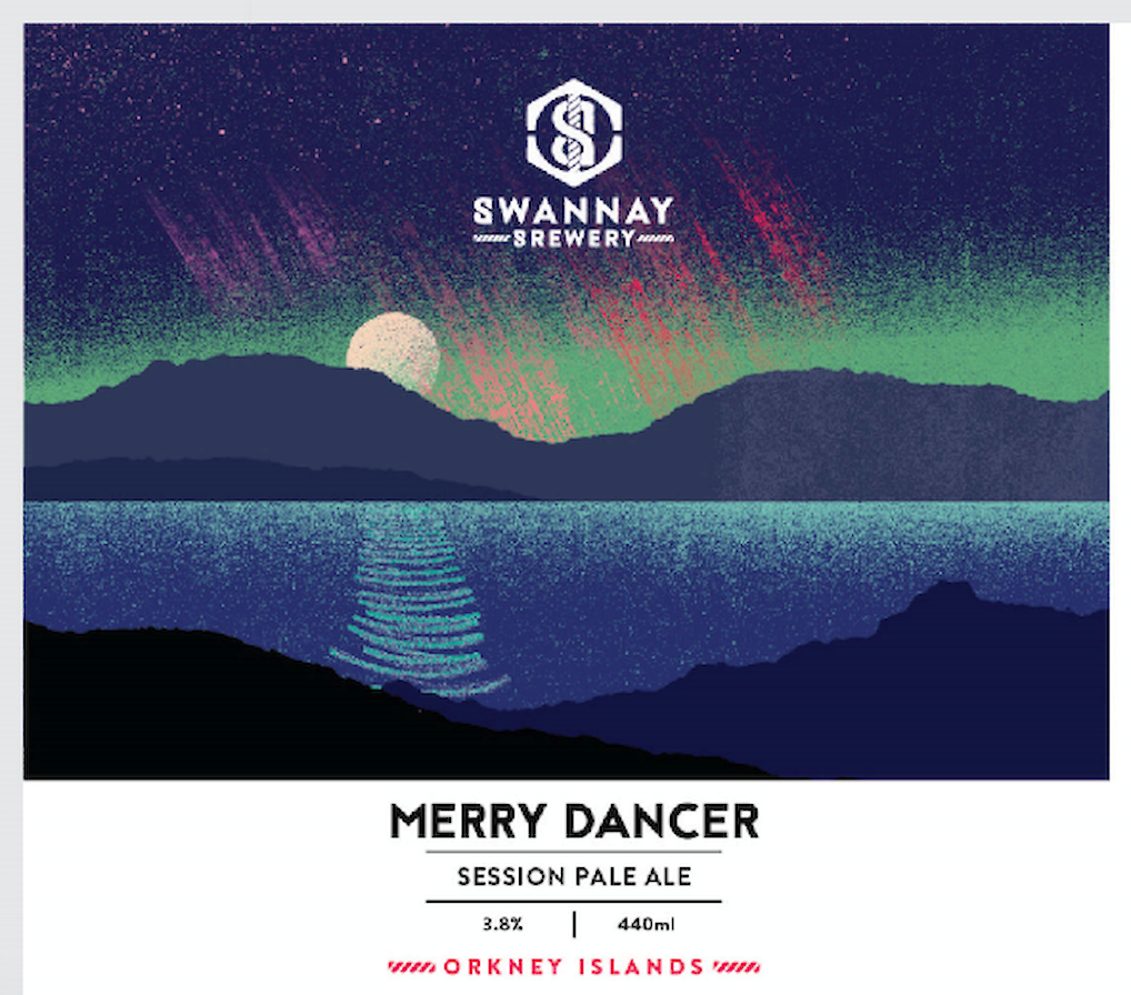 Merry Dancer from the Swannay Brewery