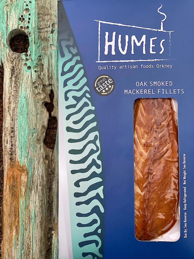 Oak Smoked mackerel from Humes Orkney