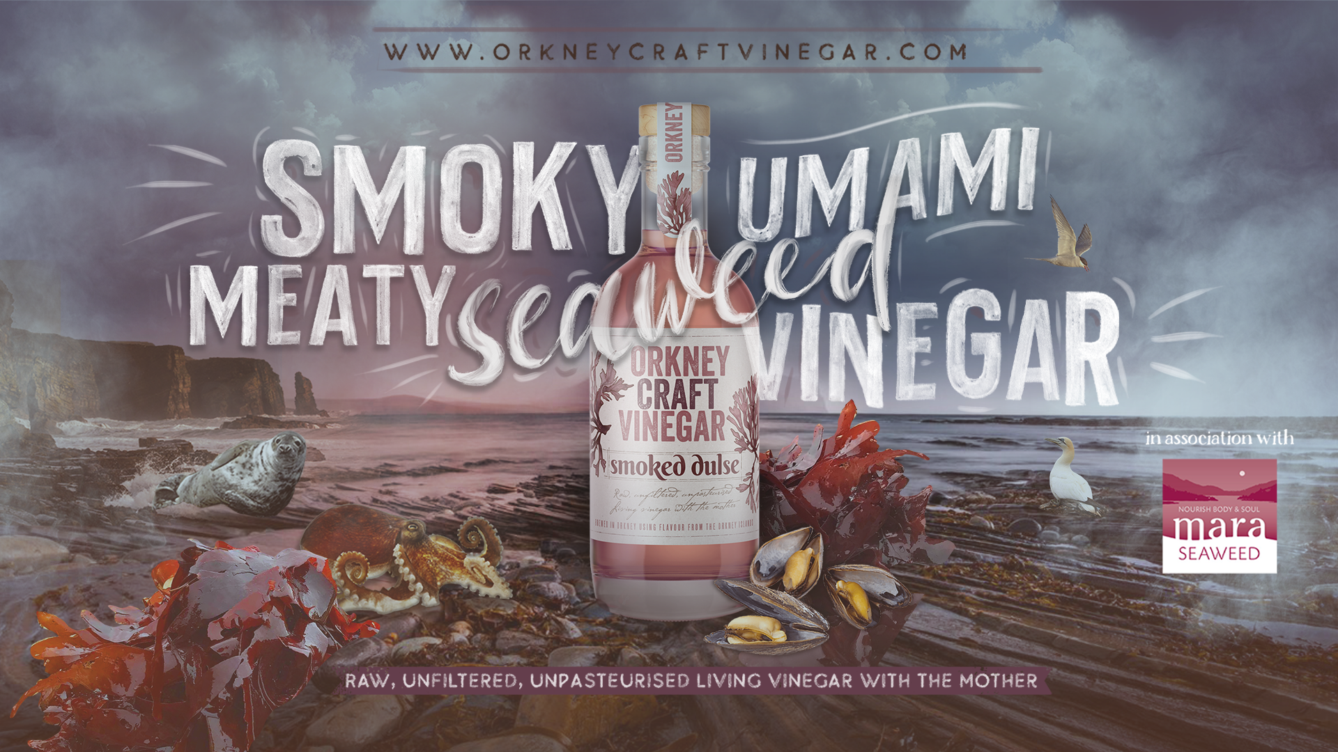 Smoked Dulse Vinegar from Orkney Craft Vinegar