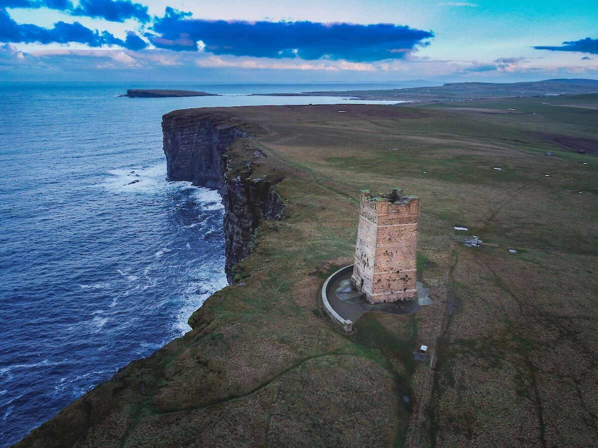KItchener Memorial and Marwick Head - image by Dave Neil