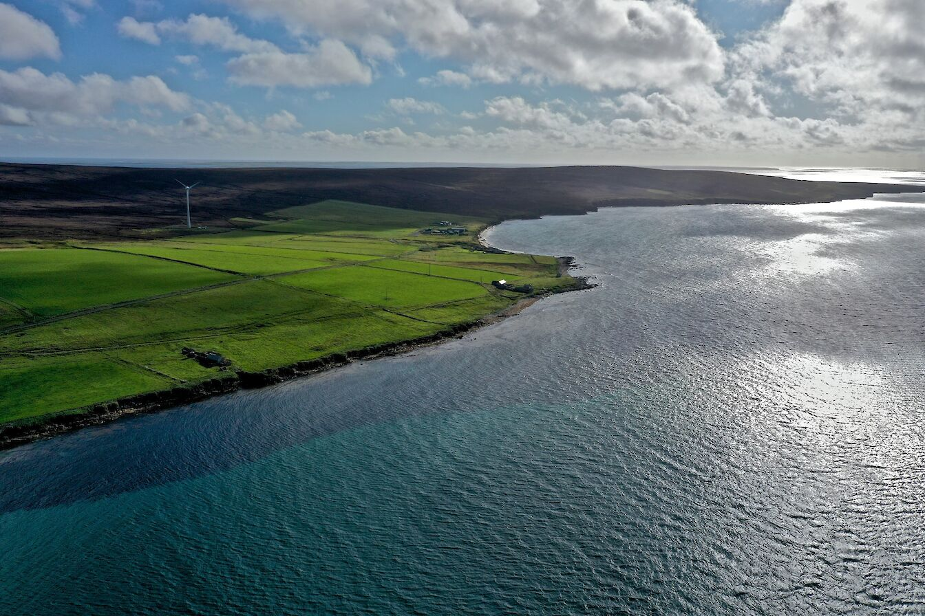 View over Eday, Orkney