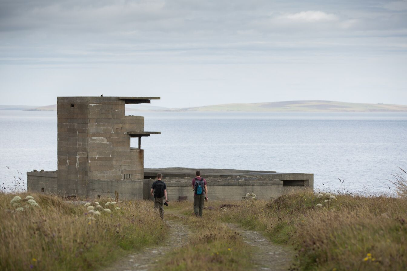 Buchanan Battery, Flotta