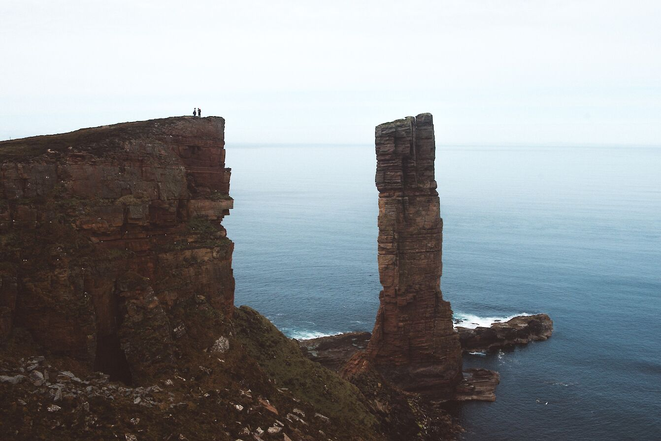 The Old Man of Hoy - image by Alistair Horne
