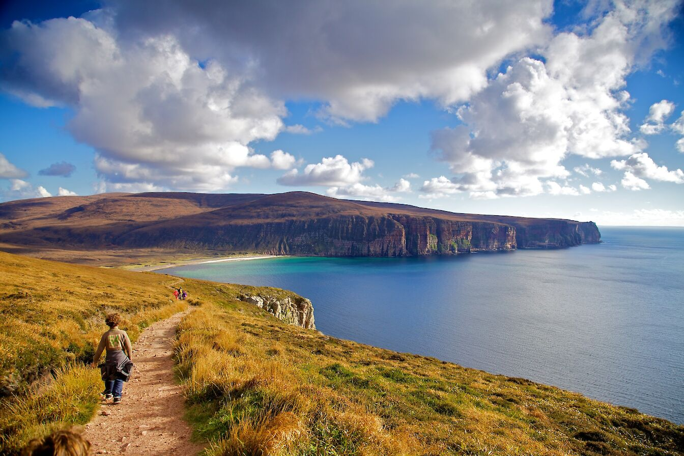 View towards Rackwick, Hoy - image by VisitScotland/Colin Keldie