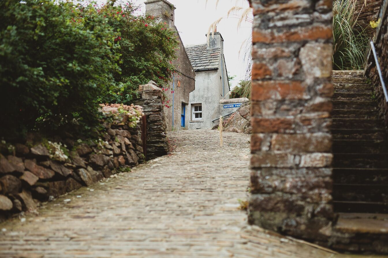 One of the many lanes in Stromness