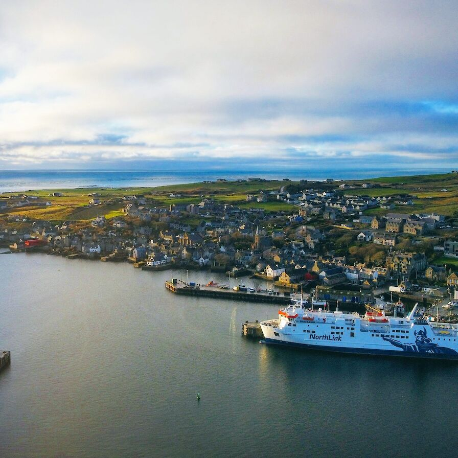 View over Stromness, Orkney - image by Scott Desmond