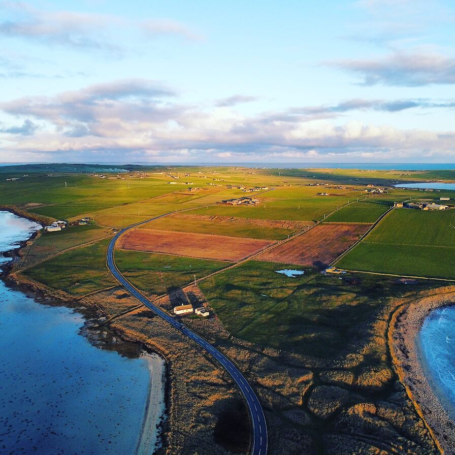 View over Deerness, Orkney - image by Scott Desmond