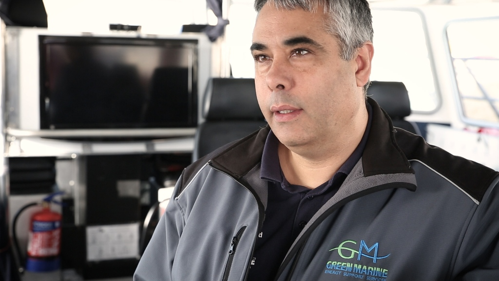 Jason Schofield, Managing Director of Green Marine