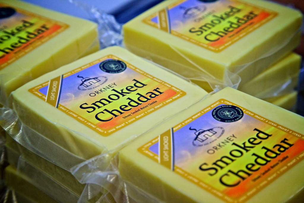 Just one of the products on offer from the Island Smokery in Orkney