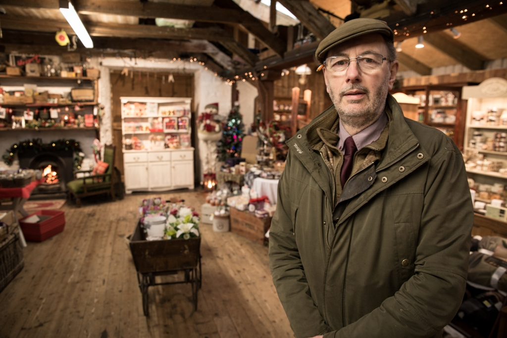 Richard Shearer in the family-run store on Victoria Street in Kirkwall