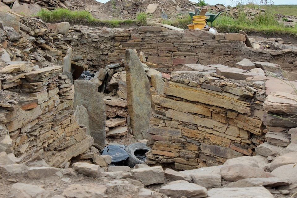 The Cairns excavation in South Ronaldsay