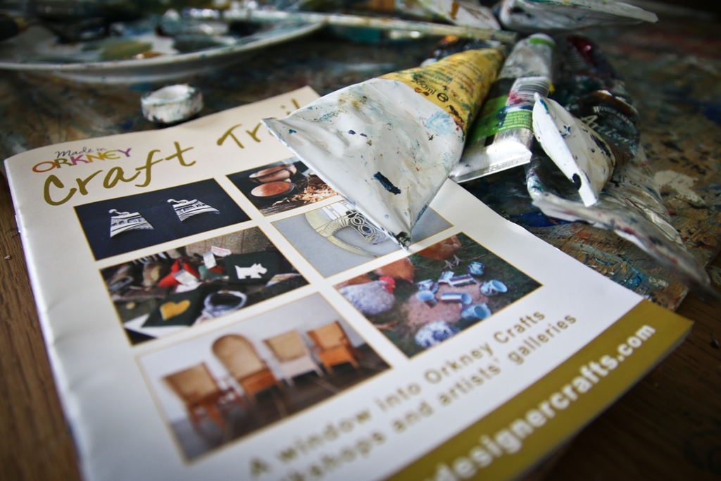 The 2016 Orkney Craft Trail brochure will be launched at the Visit Scotland Expo this year