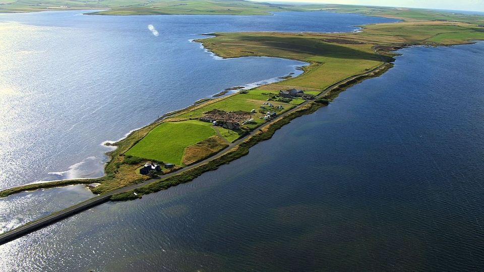 The Ness of Brodgar excavation in Orkney sits in the heart of our World Heritage Site